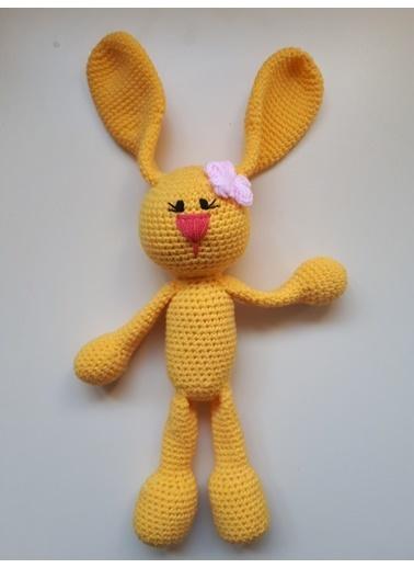 Damla Oyuncak Damla Oyuncak Amigurumi Elişi Örgü Renkli Tavşan Oyuncak Renkli